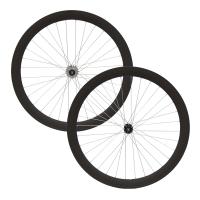 DamcoEnsemble de roues ''Single Speed'' 50mm Noir Mat