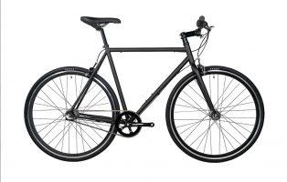 vélo urbain Fyxation - Pixel 3 Matte Black - 2021 urban bike