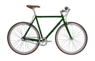 vélo urbain Fyxation - Pixel 3 Emerald green - 2021 urban bike