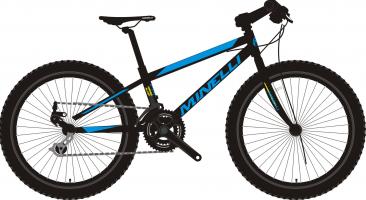 vélo pour enfant Minelli - Indigo Alloy - 2021 kid's bike
