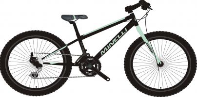 vélo pour enfant Minelli - Pro 24 Fille - 2021 kid's bike