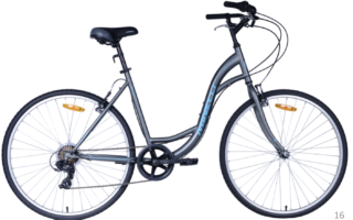 Vélo hybride MINELLI - Revo 7 Femme - 2018