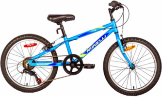 Vélo pour enfant MINELLI - Indigo Alloy Garçon - 2019 Kid's bike